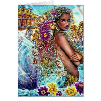 Mermaid by Lisa Iris Card