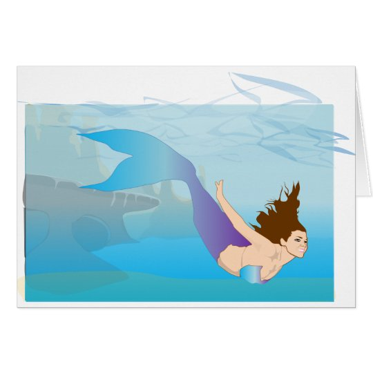 Mermaid Card
