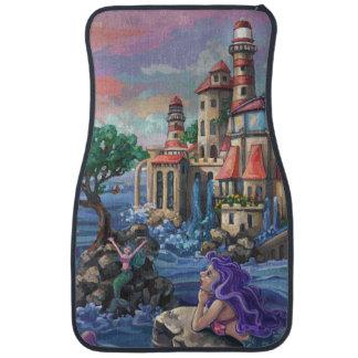 Mermaid Castle Car Mat