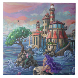 Mermaid Castle Tile