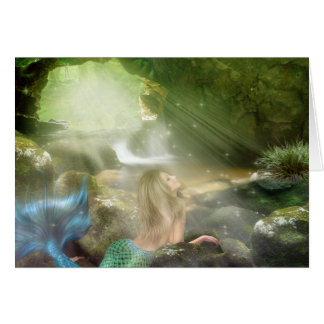 Mermaid Cave Note Card
