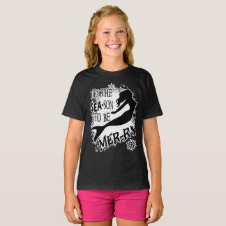 Mermaid Christmas T-Shirt