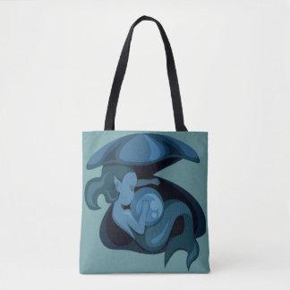 Mermaid Clam Shell Beach Bag Tote