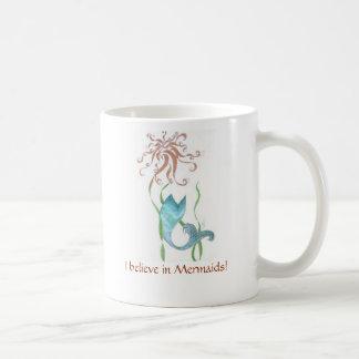 Mermaid coffee cup