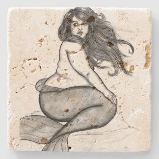 Mermaid Coster Stone Coaster