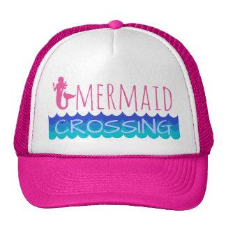 Mermaid Crossing Trucker Hat