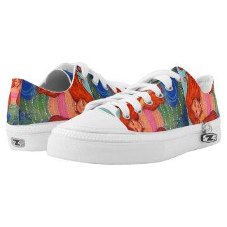 Mermaid Design Sneakers