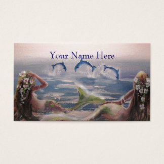 Mermaid & DolphinsProfile Card
