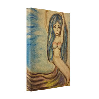 Mermaid Dreams Canvas Print