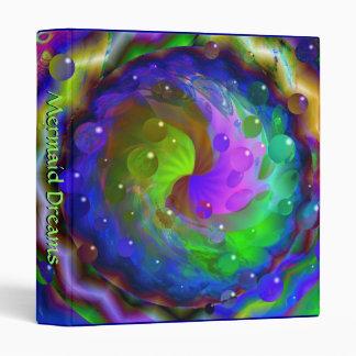 Mermaid Dreams Vinyl Binder