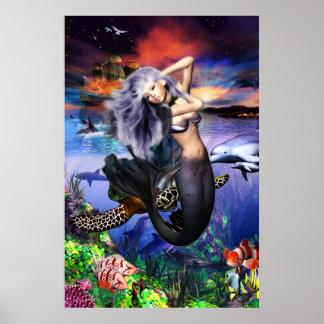 Mermaid Fantasea Poster