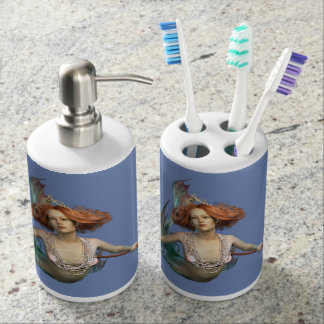 Mermaid Fantasy Art Bath Set