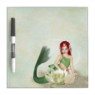 Mermaid Fantasy Dry Erase Whiteboard