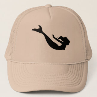 Mermaid fantasy trucker hat