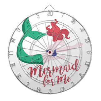 Mermaid For Me Dartboard With Darts