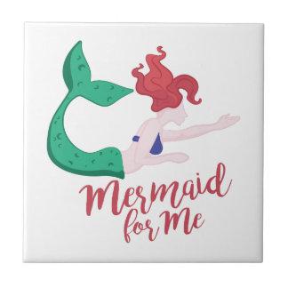 Mermaid For Me Tile