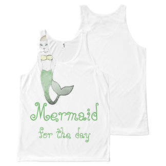 Mermaid for the Day Shirt by Mostly Mermaid Design