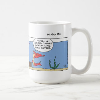 Mermaid Funeral Mug