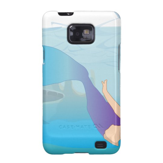 Mermaid Galaxy S2 Case