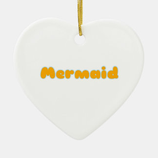 Mermaid Gifts and Shirts Ceramic Ornament