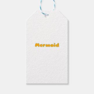 Mermaid Gifts and Shirts Gift Tags