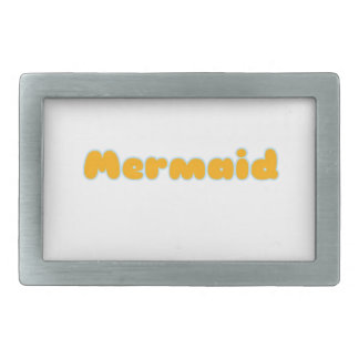 Mermaid Gifts and Shirts Rectangular Belt Buckle