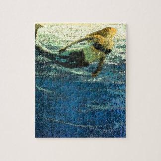 Mermaid Greeting the Dawn Jigsaw Puzzle