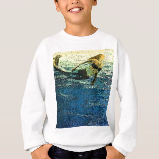 Mermaid Greeting the Dawn Sweatshirt