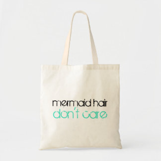Mermaid Hair Don't Care Quote  | Beach Vacation Tote Bag