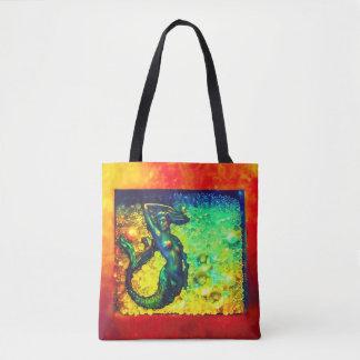 Mermaid In A Box Tote Bag