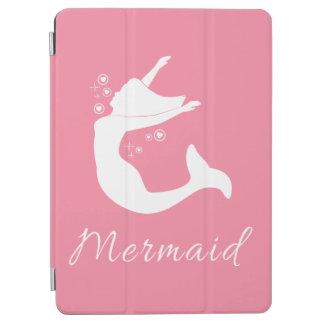 Mermaid in Silhouette iPad Air Cover