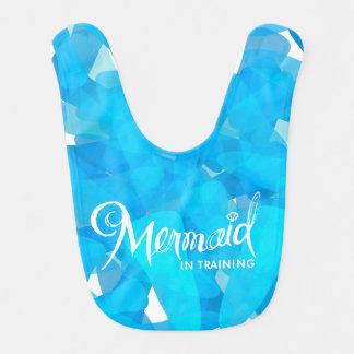 Mermaid In Training Bib