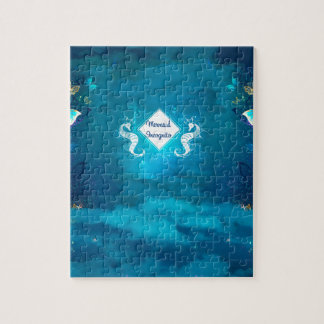 mermaid incognito jigsaw puzzle