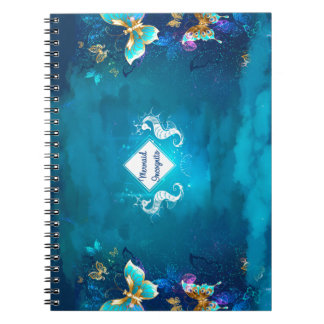 mermaid incognito spiral notebooks