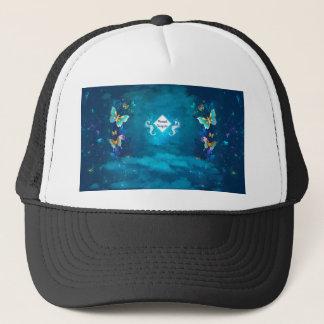 mermaid incognito trucker hat