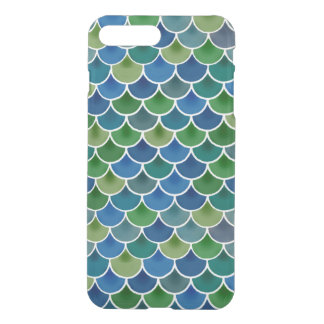 Mermaid iPhone7 Plus Clear Case