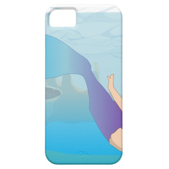 Mermaid iPhone 5 Case