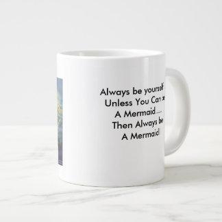Mermaid Jumbo Coffee Cup