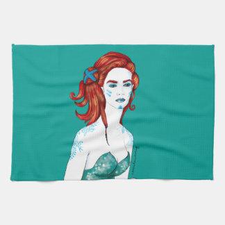 Mermaid Kitchen Towels