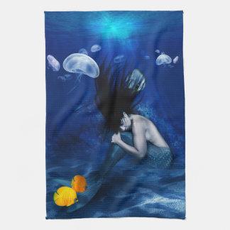 Mermaid kitchen towl hand towels