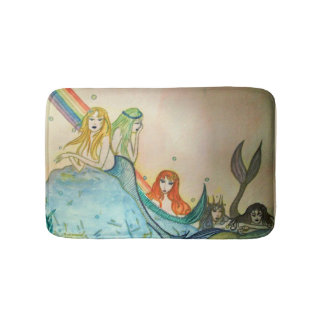 Mermaid Lagoon Bath Mat