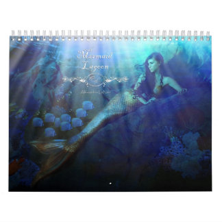 Mermaid Lagoon Wall Calendars