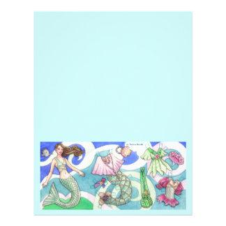 Mermaid Large Stationery