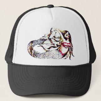 Mermaid Laurel - Mermaid School -  CricketDiane Trucker Hat