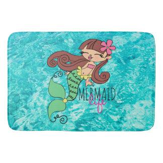 Mermaid Life Bath Mat