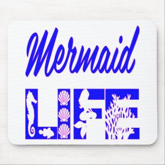 Mermaid Life FB.com/USAPatriotGraphics © Mouse Pad