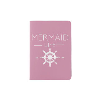 Mermaid Life Passport Cover