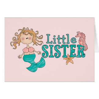 Mermaid Little Sister Stationery Note Card