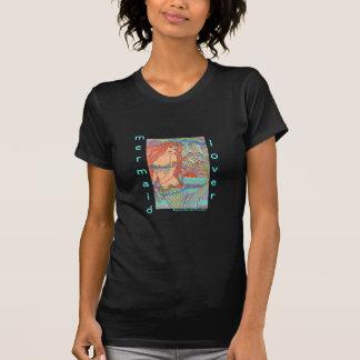 MERMAID LOVER pretty princess mermaid art t-shirt
