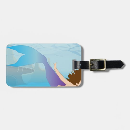 Mermaid Luggage Tag